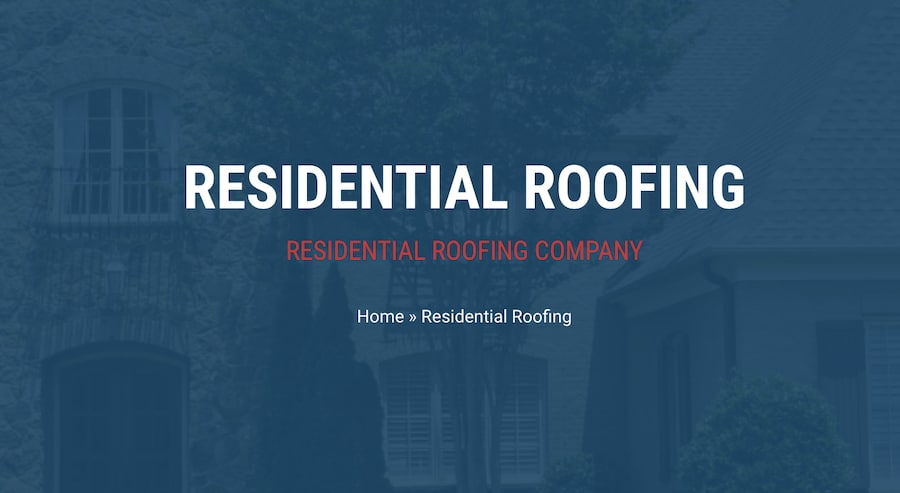 Residential Roofing Company In Memphis Best Price